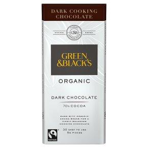 Green & Black's organic cooking chocolate dark