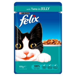 Felix Cat Food Pouch With Tuna In Jelly