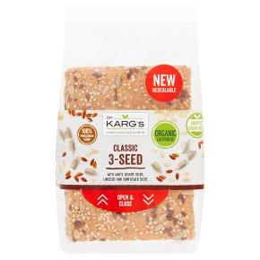Dr. Karg classic organic 3-seed crisp bread