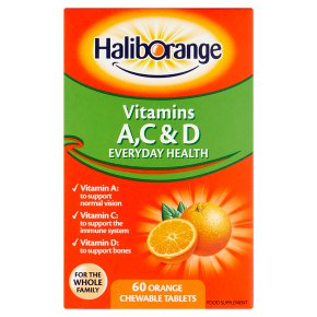 Haliborange Vitamins A, C & D