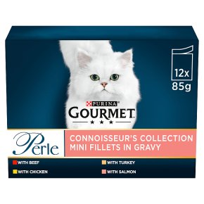 Gourmet Perle Connoisseurs Cat Food Mixed