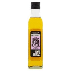 Waitrose Garlic Olive Oil