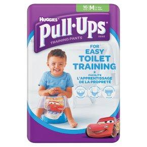 Huggies Pull Ups Potty Training Pants, Boy, Medium, 11-18kg