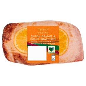 Waitrose orange & honey roast ham