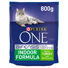 Purina ONE Indoor Dry Cat Food Turkey and Wholegrain