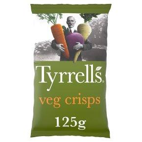 Tyrrells Veg Crisps Beetroot, Parsnip & Carrot