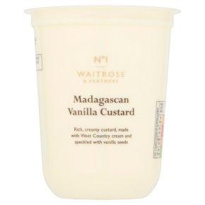 Waitrose 1 Madagascan vanilla custard