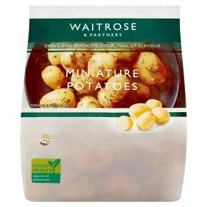 Waitrose Miniature Potatoes