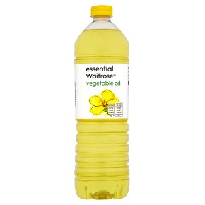 essential Waitrose vegetable oil