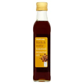 Waitrose Toasted Sesame Oil