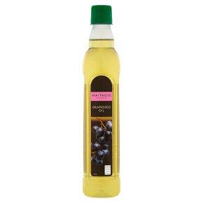 Waitrose grapeseed oil