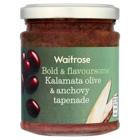 Waitrose olive & anchovy tapenade