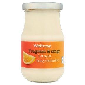 Waitrose lemon mayonnaise