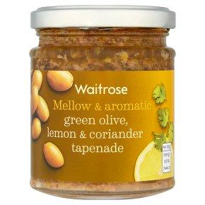 Waitrose Tapenade Green Olive Lemon & Coriander
