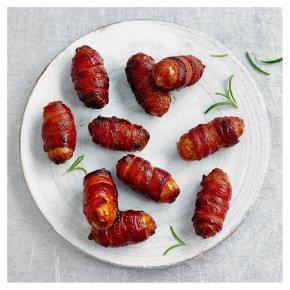 16 Waitrose & Partners Duchy Organic Free Range Sausage & Bacon Rolls