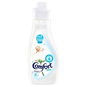 Comfort pure 21 wash fabric conditioner