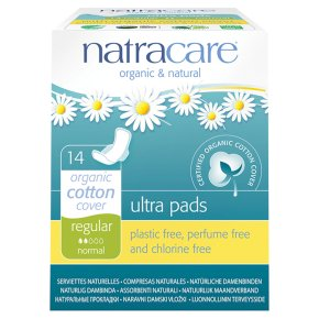 Natracare natural ultra pads regular