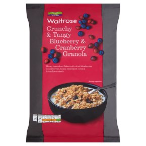 Waitrose Blueberry & Cranberry Oat Crunchie