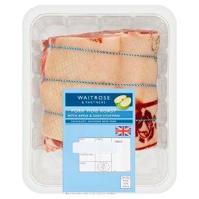 British Pork Shoulder with Apple and Sage Stuffing