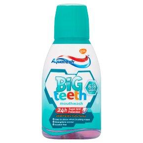 Aquafresh mouthwash big teeth