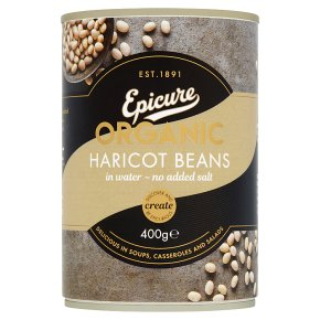 Epicure canned organic haricot beans