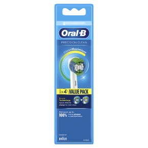 Oral B Precision Clean Toothbrush Replacement Heads 4pk