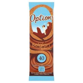 Options Belgian chocolate sachet