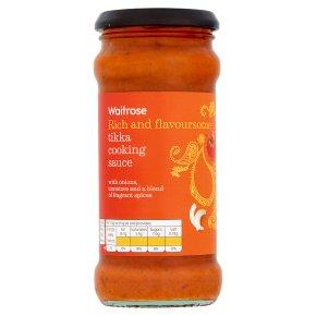 Waitrose tikka cooking sauce