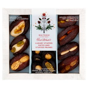 Waitrose Christmas Stuffed Medjool Dates Selection