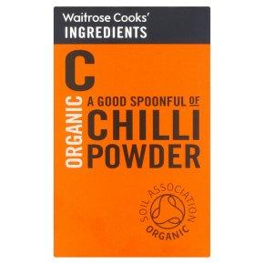 Waitrose Cooks' Ingredients organic chilli powder