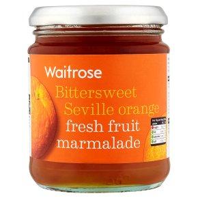 Waitrose Seville orange fresh fruit marmalade