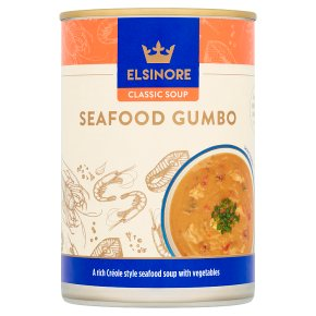 Elsinore Classic Seafood Gumbo soup