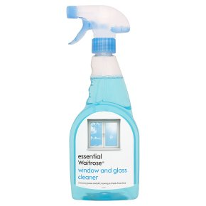essential Waitrose window and glass cleaner