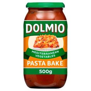 Dolmio Pasta Bake Mediterranean vegetables sauce
