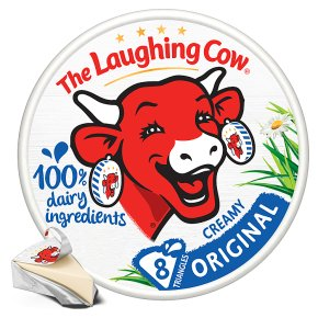 The Laughing Cow original, 8 triangles