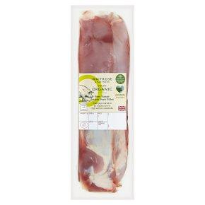 Waitrose Duchy Organic British free range pork fillet