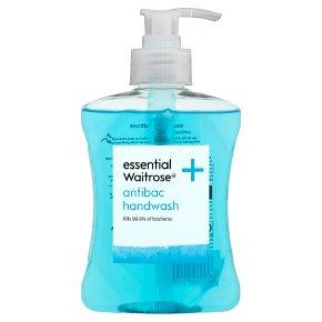 essential Waitrose antibac handwash