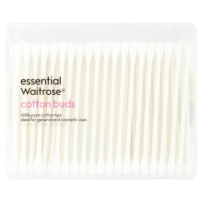 essential Waitrose cotton buds
