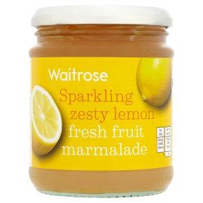 Waitrose lemon fresh fruit marmalade