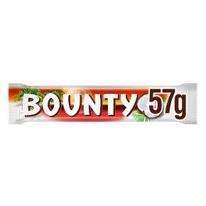 Bounty dark chocolate single bar