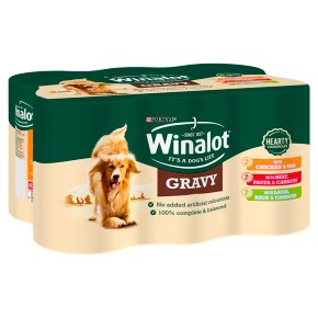 Winalot Adult Tinned Dog Food Meat In Gravy