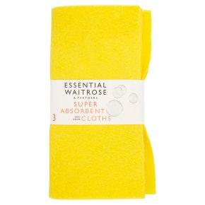 essential Waitrose super absorbent cloths