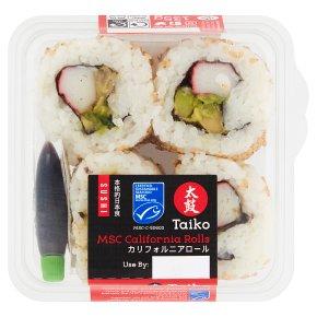 Taiko sushi California sushi