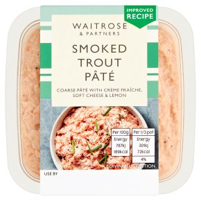 Waitrose smoked trout pâté