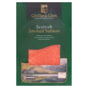 Ghillie & Glen Scottish oak smoked salmon