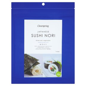 Clearspring 7 sheets sushi nori