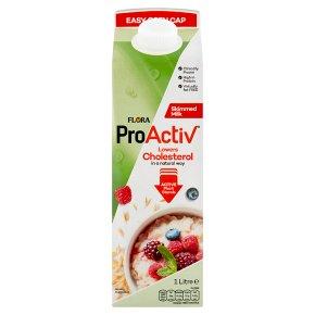 Flora Pro-Activ skimmed milk