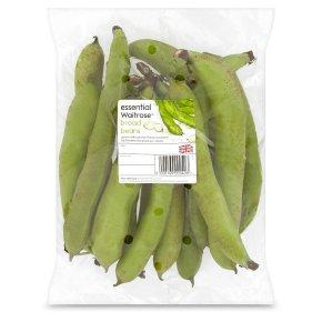 essential Waitrose broad beans
