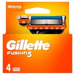 Gillette Fusion Manual Razor Blades 4 count