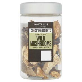 Waitrose Cooks' Ingredients wild mushrooms
